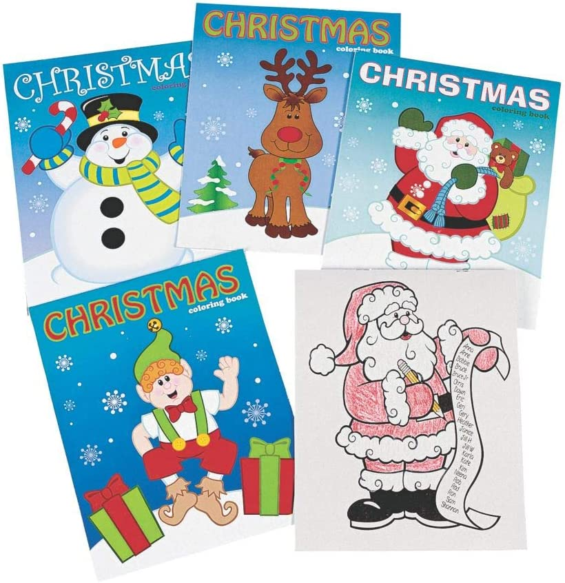 288 Pieces CASE QTY -A CHRISTMAS COLOR BOOK ASST - Stationery