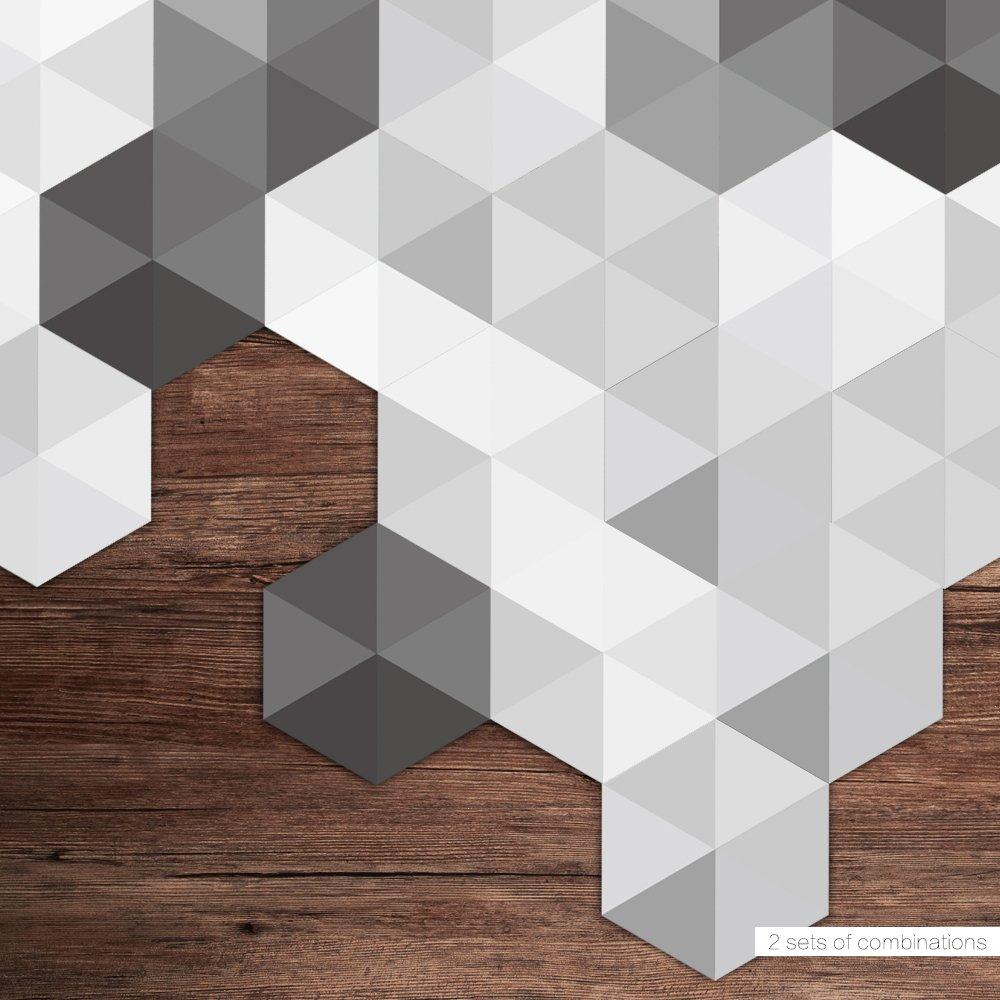Amazon.com: CaseFan 3D Floor Wall Sticker for Bathroom & Kitchen ...