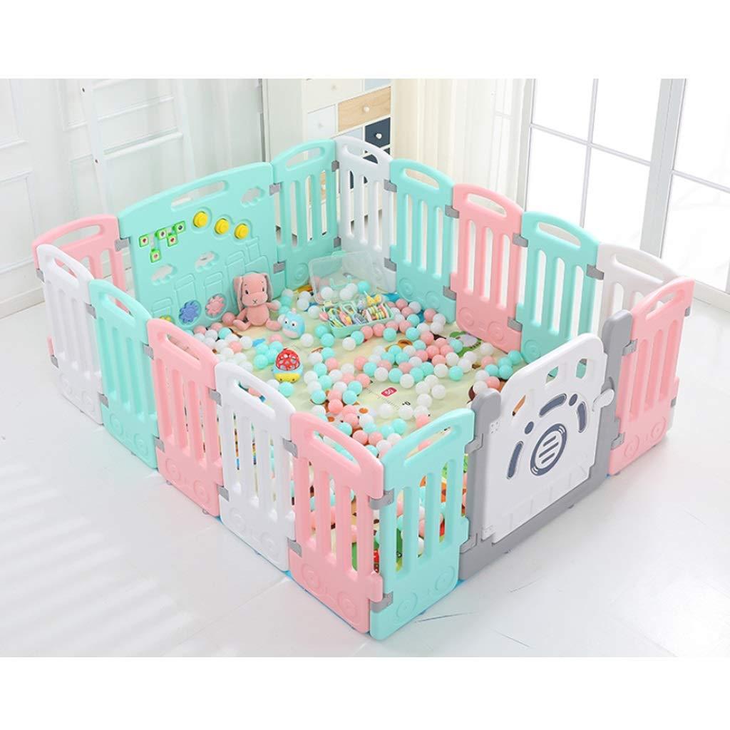 子供の遊びのフェンスベビーのフェンスの赤ちゃんのクロールマット幼児のバーの安全フェンスの家屋内遊び場 SHWSM (Size : 101CM×103CM) B07TB67F5M  101CM×103CM