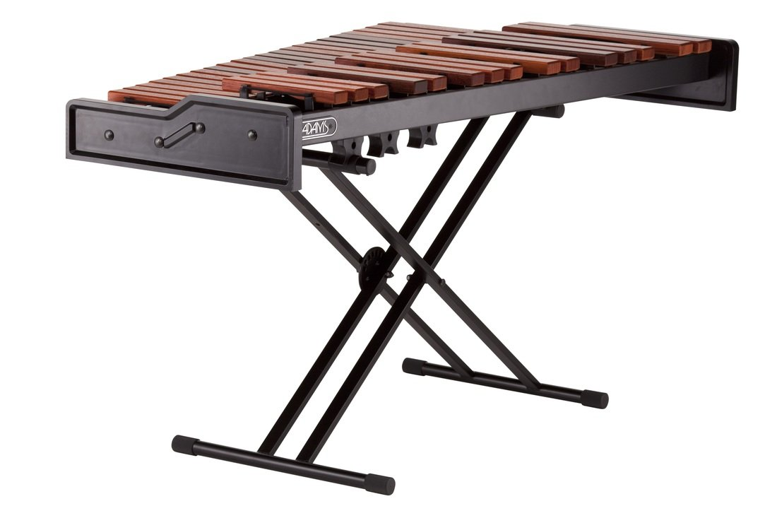 Adams Academy AMPD30 3.0 Oct Padouk Marimba with X-Style Height Adjustable Stand by Adams