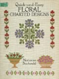 img - for Quick-And-Easy Floral Charted Designs (Dover Needlework Series) book / textbook / text book