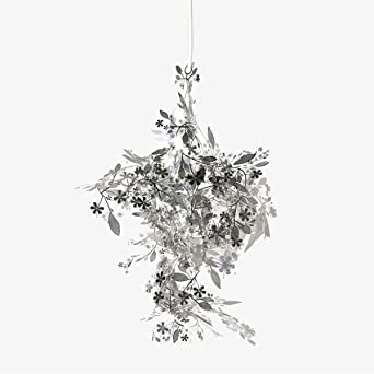 Tord boontjes garland light shade flower lamp pendant chandelier tord boontjes garland light shade flower lamp pendant chandeliersliver mozeypictures Gallery