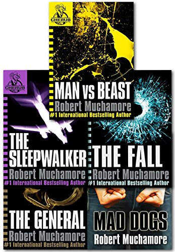 (Cherub Series 2 Collection Robert Muchamore 5 Books Set (Books 6 To 10) (Man Vs Best, The Fall, Mad Dogs, The Sleepwalker, The General))