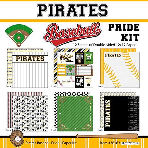 - Scrapbook Customs Pirates Pride Baseball Scrapbook Kit