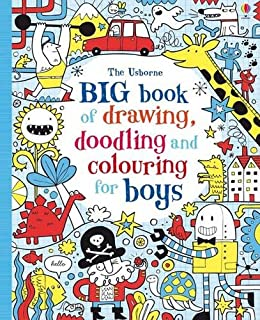 The Usborne Book of Drawing, Doodling and Coloring: Fiona Watt ...