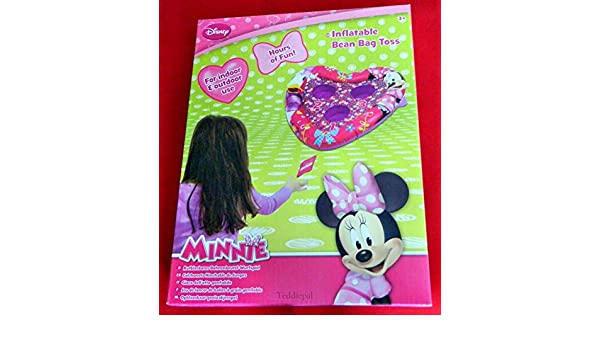 Amazon.com: Minnie Mouse DMM-3065-B Inflatable Bean Bag Toss ...