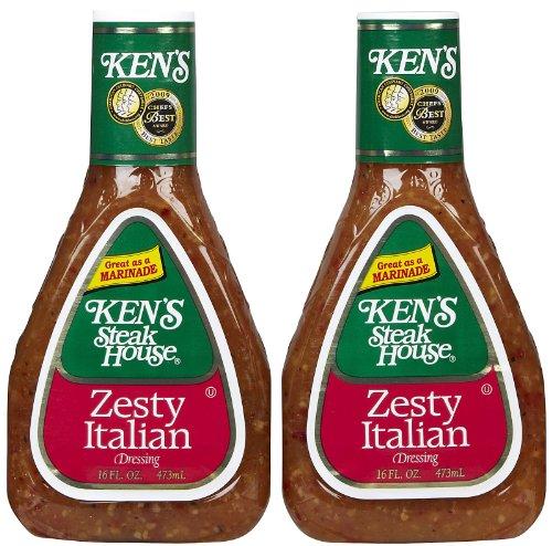 ingredients for zesty italian dressing - 2