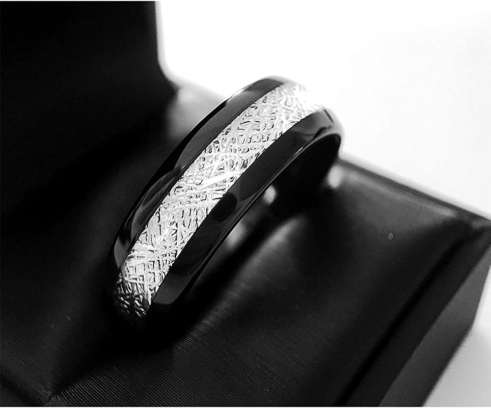 It is a photo of Meteorite Ring, Wedding Bands, Mens Ring, Mens Wedding Band, Rings