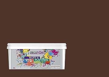 Decohom Pittura Murale A Monostrato Opaco 2 5 L Africa Marrone Scuro Amazon It Fai Da Te
