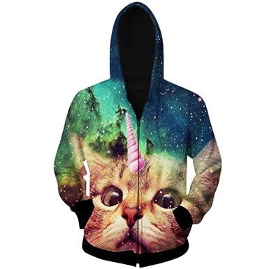 Arrival Cat Head Hoodies Men 3D Hoodie Sweatshirt Men Harajuku Casual Style Brand Clothing Sudaderas Hombre