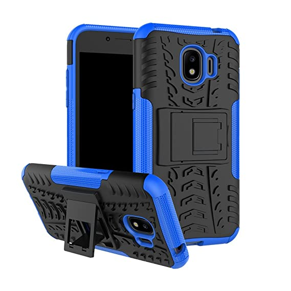 half off dbc35 bf896 Galaxy J2 Pro 2018 Case, Linkertech [Shockproof] Tough Rugged Dual Layer  Protector Hybrid Case Cover with Kickstand for Samsung Galaxy J2 Pro 2018  ...