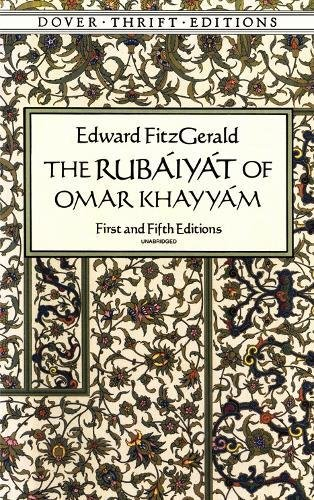 the-rubyt-of-omar-khayym-first-and-fifth-editions-dover-thrift-editions