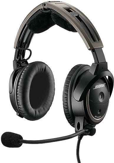 0729b72c04c Amazon.com  Bose A20 Aviation Headset (Battery-powered
