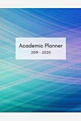 Academic Planner: August 2019 - July 2020 Christian Student Organizer With Undated Calendar. Includes Journal Pages with Bible Verses. Paperback