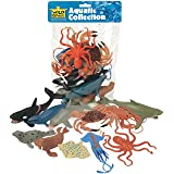 Wild Republic Aquatic Animals Polybag, Toy Figurines, Gifts for Kids, Party Supplies, Sensory Play, Kids Toys, 11 Piece…