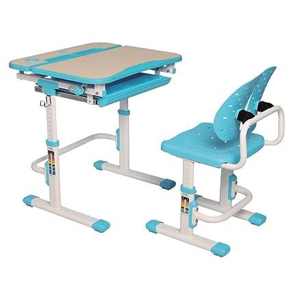 Amazon.com: GALILEO - Juego de escritorio y silla para niños ...