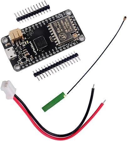 DIYMall lora32u4 Lora RA-02 módulo junta de desarrollo largo alcance comunicación 1 KM Lipo ATmega328 sx1278 con IPEX antena para Arduino
