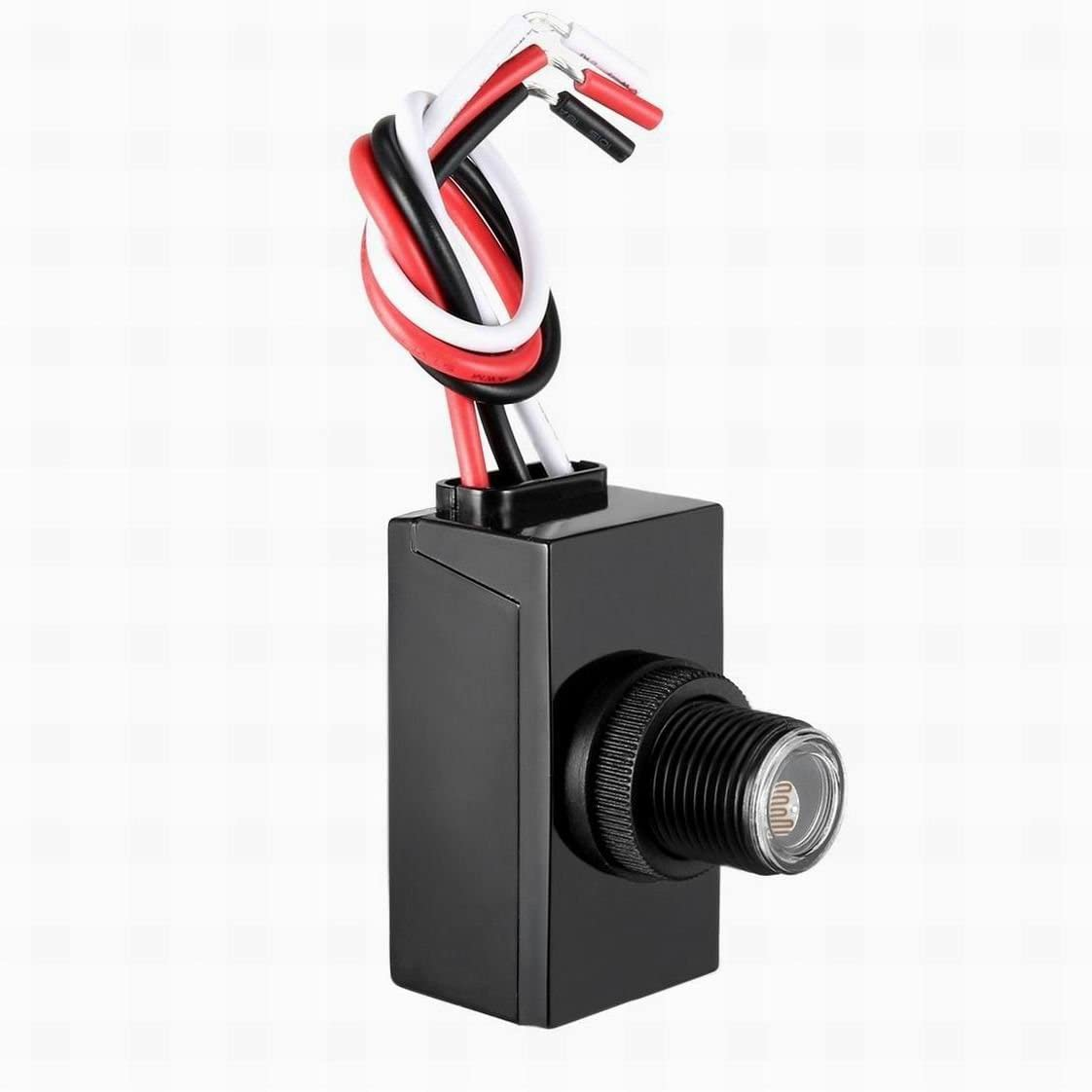 MariaP Dusk Dawn Photo Control Photocell 120-277 V Outdoor Photocell Light  Sensor Lighting Switch - - Amazon.comAmazon.com