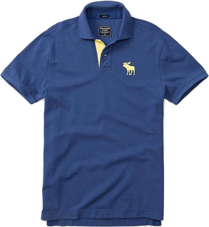 Abercrombie & Fitch - Polo - para hombre azul XL: Amazon.es: Ropa ...