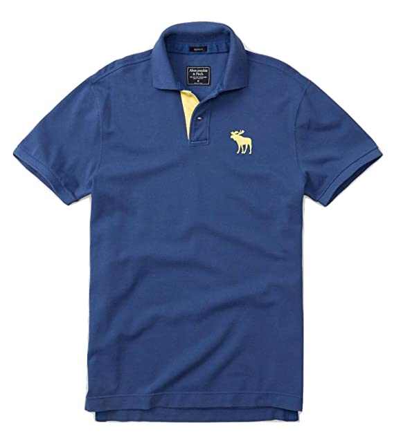 Abercrombie & Fitch - Polo - para hombre azul XL: Amazon.es: Ropa ...