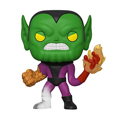 Funko Pop! Marvel: Fantastic Four - Super-Skrull: Toys & Games