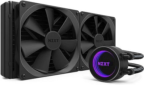 NZXT Kraken X62 280 mm - Refrigerador líquido de CPU RGB todo en uno - Con tecnología CAM -