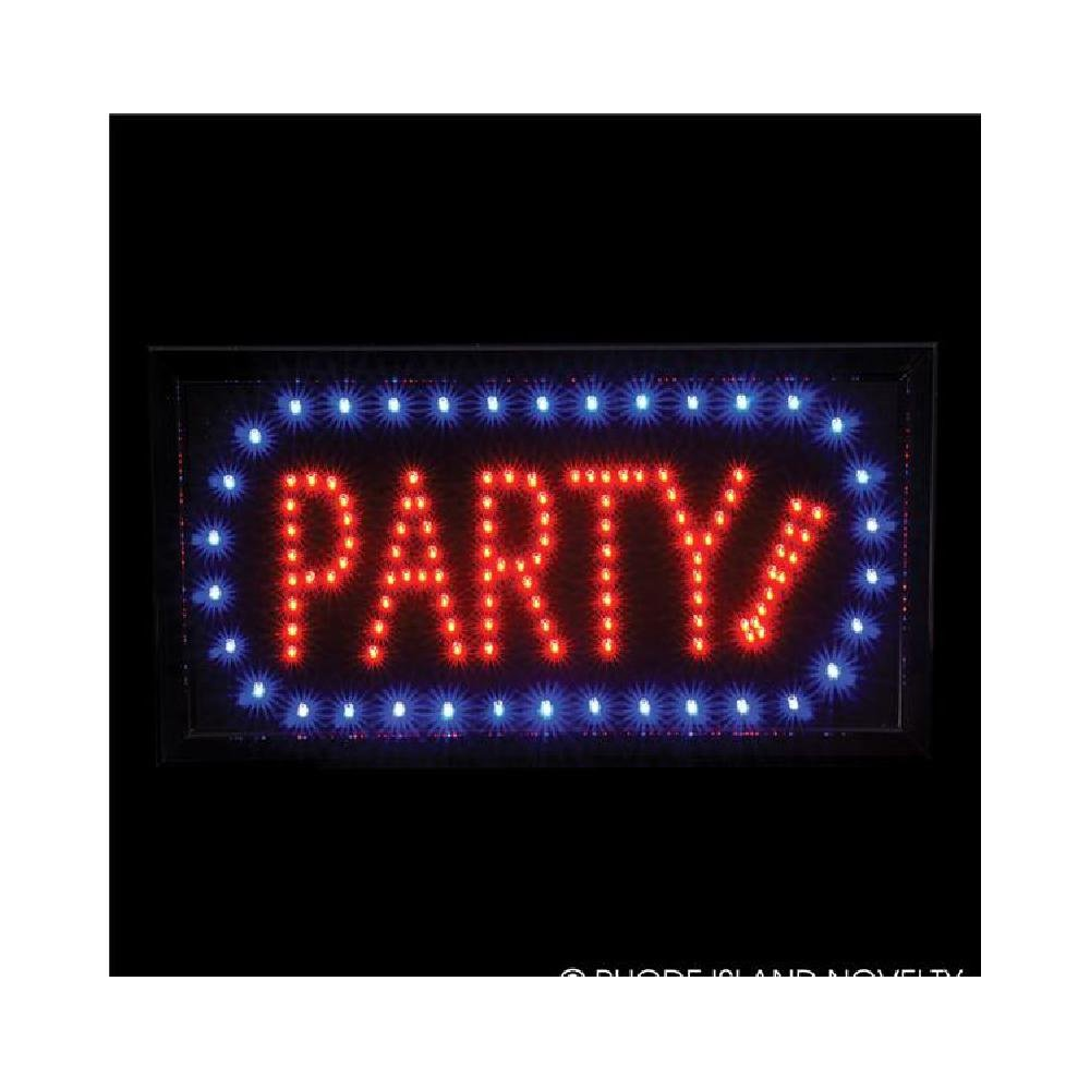 10''X19'' Light-Up ''Party'' Sign