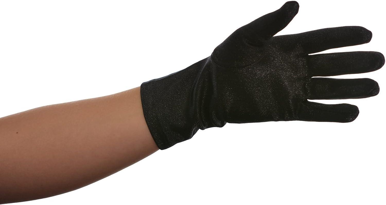 OLT Fashion Beautiful Wrist Length Satin Glove