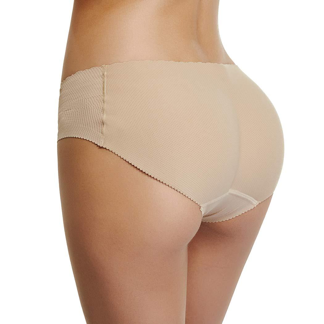 Padded Underwear Women Seamless Butt Hip Enhancer Panties Booty Lifter Shaper Butt Shapewear