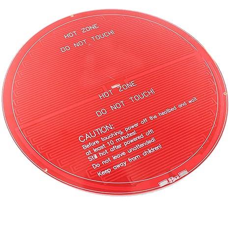 styleinside MK2Y Cama calefactada Redonda PCB Impresora Delta ...