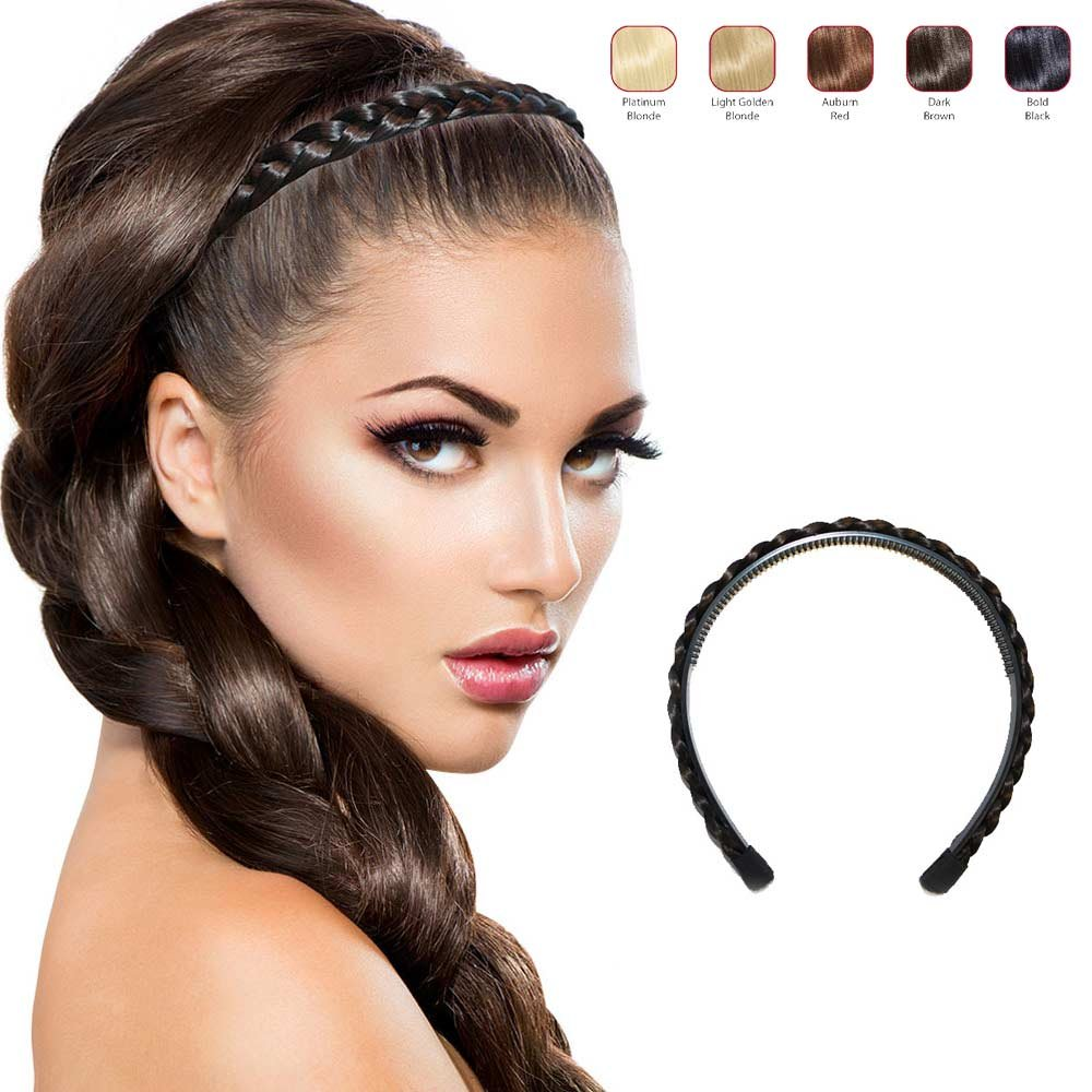 Twisted Wig Braid Alice Hair Bands Head Bands Head wear Women Hair Accessories