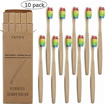 WL Cepillo de Dientes 10Pcs Cepillo De Dientes Eco Friendly ...