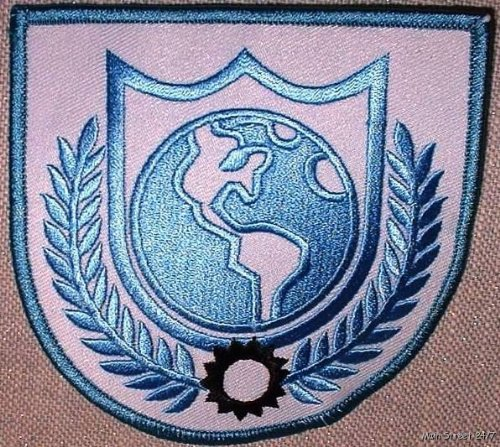 Buck Rogers Costumes (BUCK ROGERS TV Series Earth Alliance Shoulder PATCH)