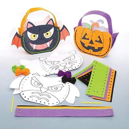 Baker Ross Halloween Bolsa Un Kit De Manualidades Para