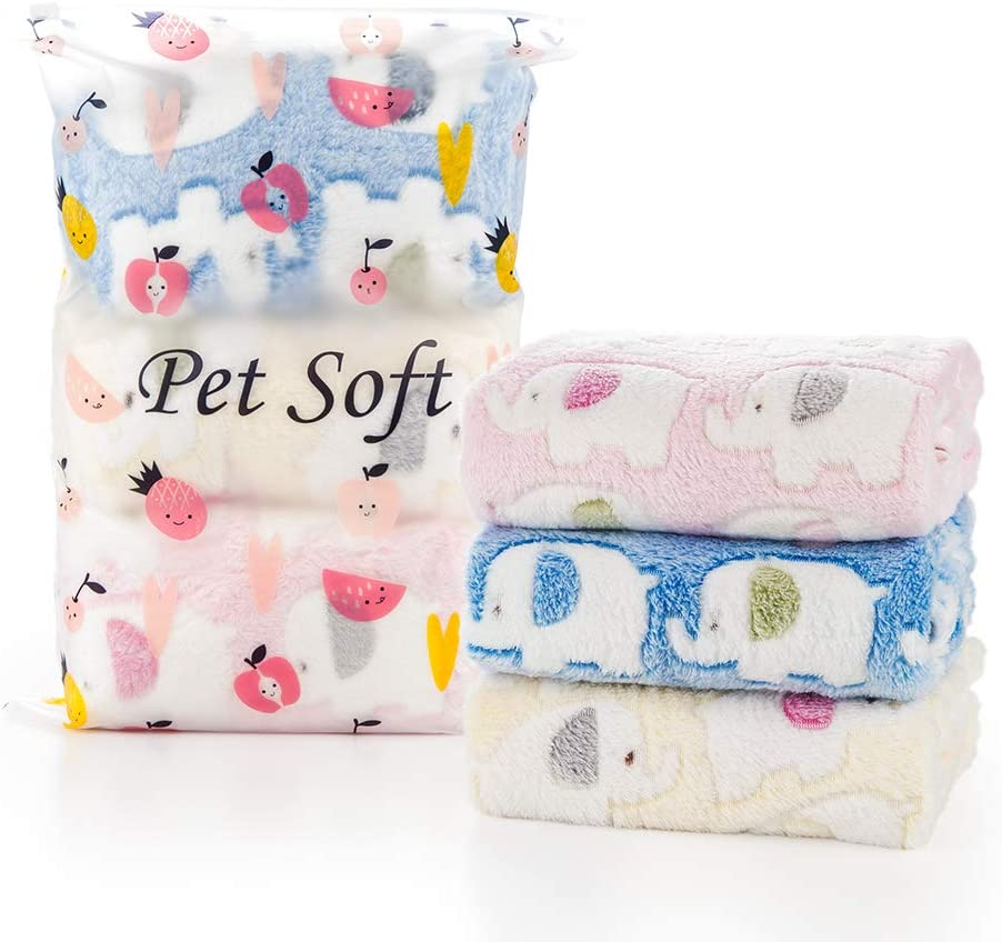Pack of 3! Winners Soft Pet Blanket for Dogs//cats//all pets