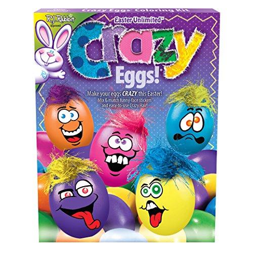 "Fun World Crazy Easter Eggs Supply Deco Supply 32pc 9"" Egg D"