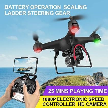 Youwend F68 RC Drone con cámara 1080P Gesto Foto Video Pista Vuelo ...