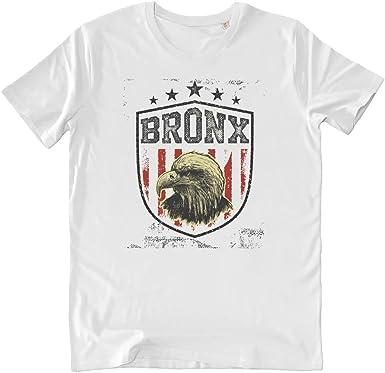 Pushertees-Store - T-Shirt Hombre White - American Eagle Bronx ...