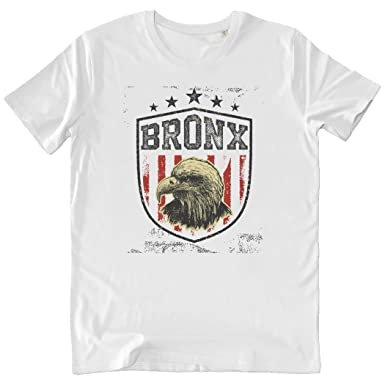 Pushertees-Store - T-Shirt Hombre White - American Eagle Bronx ...