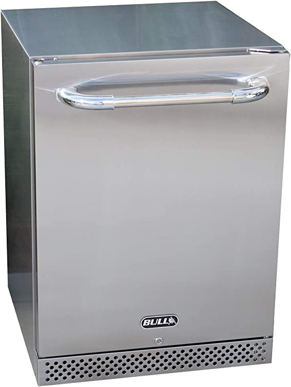 Bull Outdoor Products 13700 Series II Outdoor Refrigerator, Stainless Steel