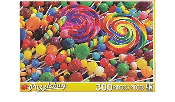 Colorful Lollipops 1000 Piece Puzzle George