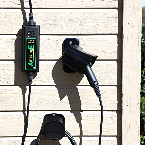 AmazingE Black EV Charging Station Wall-Mount Cable Wrap by AmazingE (Image #1)