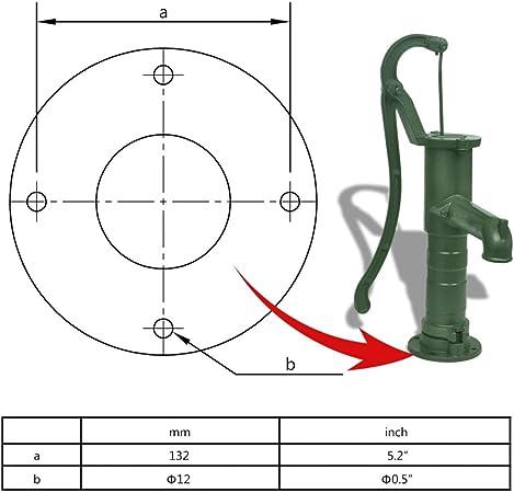 Cast Iron Garden Hand Water Pump//Stand Well Pump Plumbing Pump Farm Irrigation