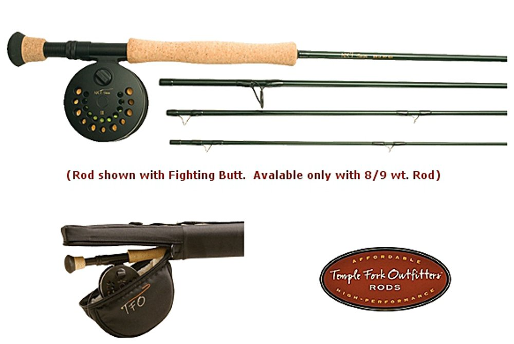 Temple Fork Outfitters NXT Rod & SA Reel Kit - 8/9 Wt., 9', 4 pc by Temple Fork Outfitters