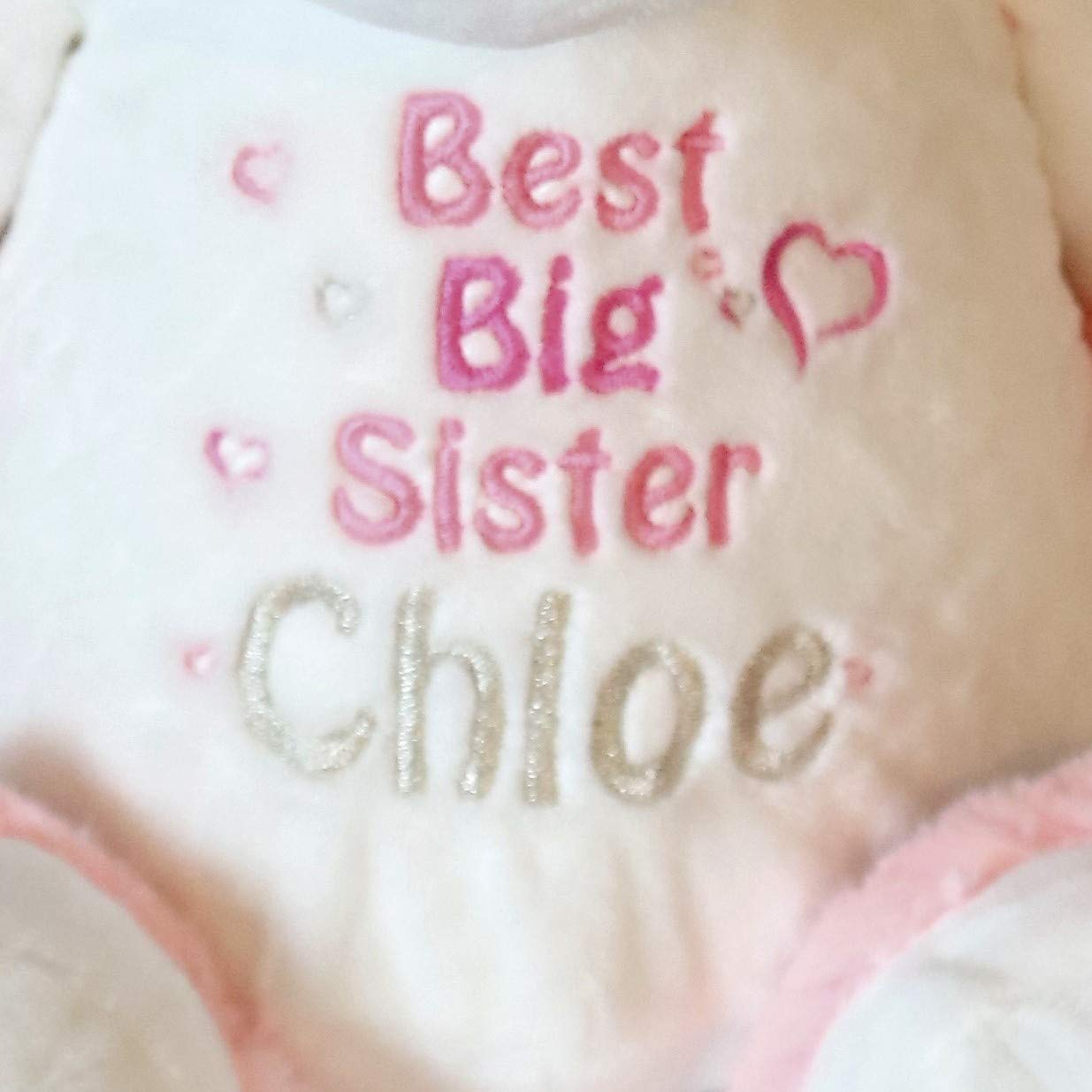 New Sister gift Best Big Sister Personalised Unicorn