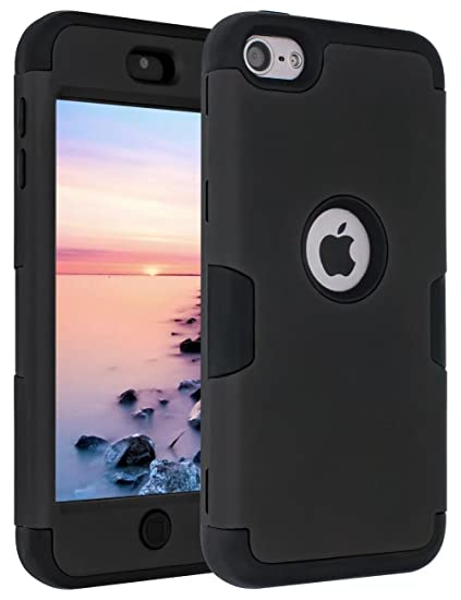 quality design fa2af 9546c Amazon.com: iPod 6 Case,iPod Touch 6 Case,ANLI(TM)[ 3in1 K Style ...
