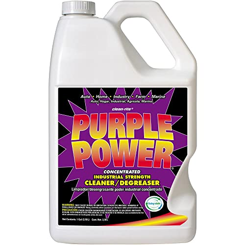 Purple Power Industrial Strength Cleaner and Degreaser Review