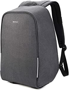 KOPACK 17 inch Anti Theft Laptop Backpack Waterproof Travel Backpack Rain Cover/USB Business Scan Smart