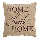 VHC Brands Home Sweet Home Pillow 12x12