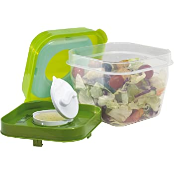Amazon.com: Dressing to Go, Salad Dressing Containers for